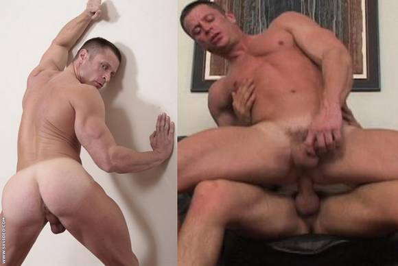 Josh Weston Fucked Bareback In Bodybuilders Bareback
