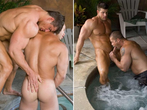 Matthew Rush Sucks Zeb Atlas on the set of Falcon's Best Men