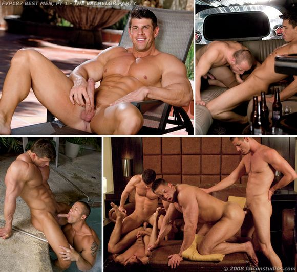Gay bachelor party porn