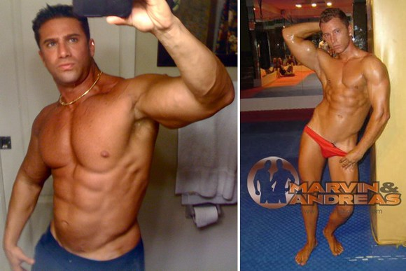 Muscle studs Gabriel and Robert