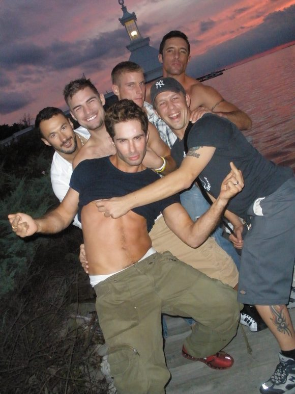Cast of Return To Fire Island