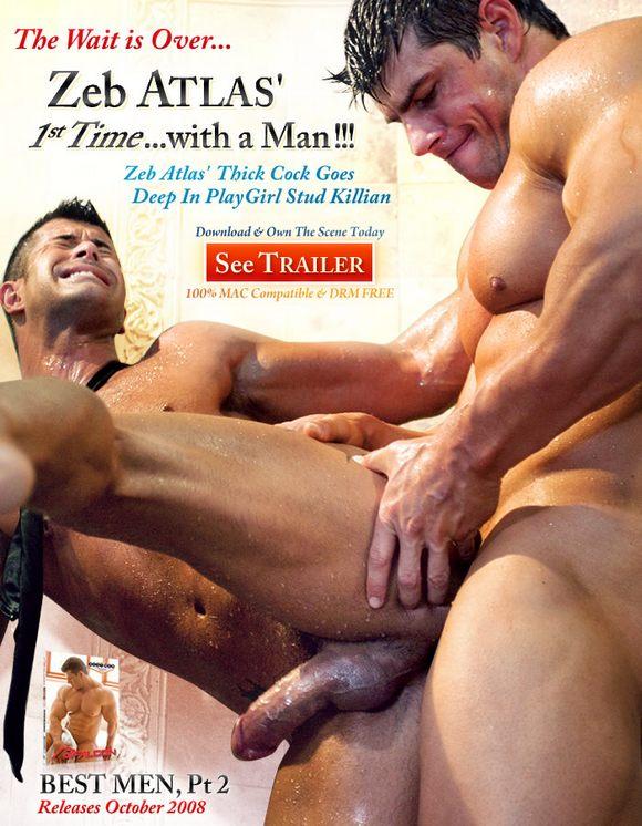 Bodybuilder porn star Zeb