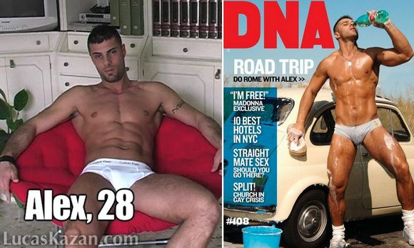 Italian Model ALEX MARTE and His Porn Past DNA Magazine
