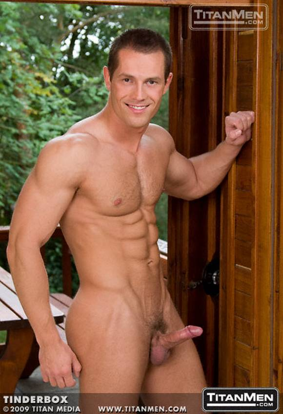 muscular European hunk David Novotny naked