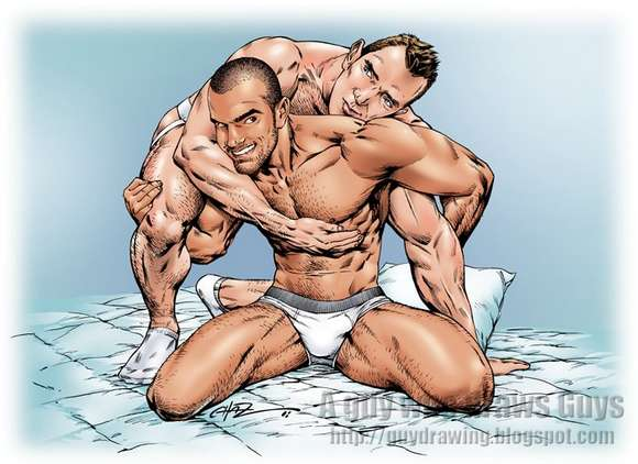 Damien Crosse Francesco DMacho Cartoon