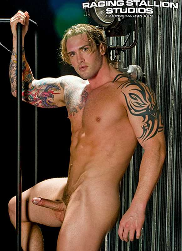 Raging Stallion Exclusive gay porn star DAVID TAYLOR