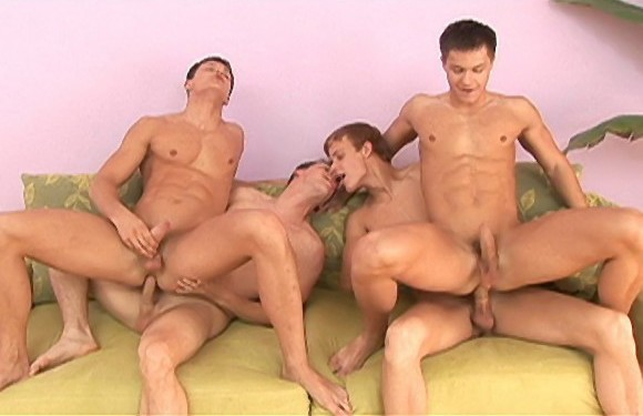 Sex Buddies – Sebastian Bonnet, Luke Hamill Fuck Peters Twins