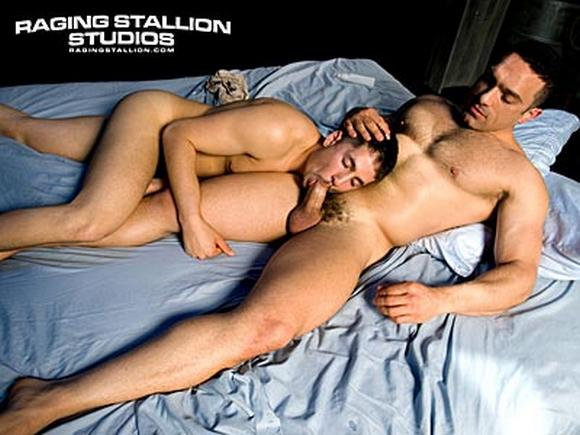 Israeli Gay Porn Star Morr Foxx and Adam Excell gay sex fuck from Porn Stars in Love