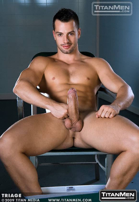 gay porn star Titan Men Exclusive MARCO BLAZE