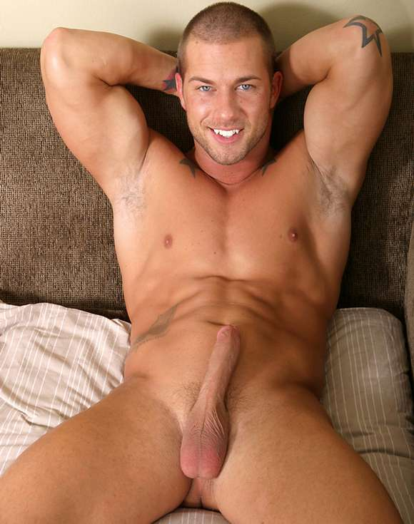 gay porn star Rod Daily naked with hardon