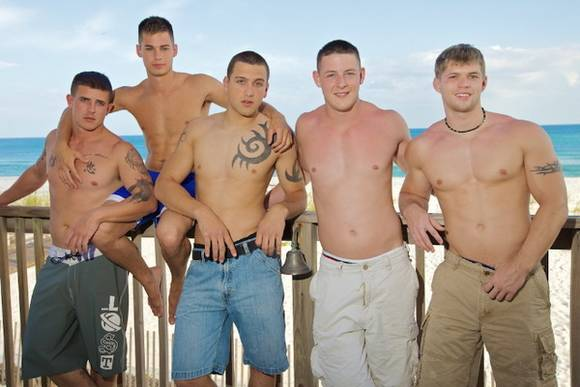 Active Duty muscular porn models