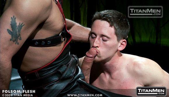 Folsom Flesh gay porn Titan Men fuck