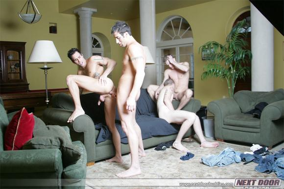 Spencer Reed ORGY