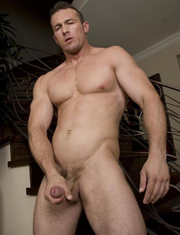 naked male model Randy Blue Devin Draz aka Spence