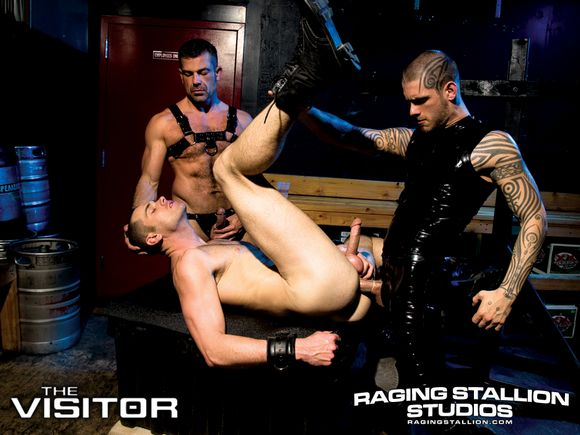 Raging Stallion THE VISITOR Logan McCree alien gay sex