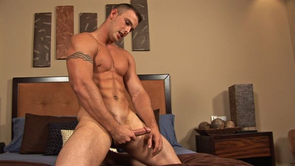 fitness model Sean Cody model Wade jerking off