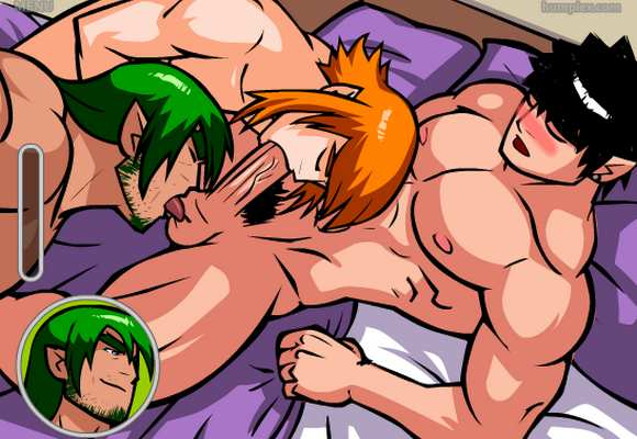 Keric Komplex gay porn flash game oral sex