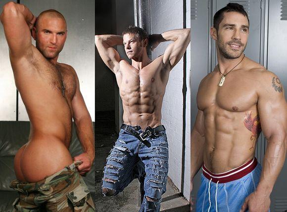 masculine gay porn star Tom Wolf Nathan Lewis Cayden Ross