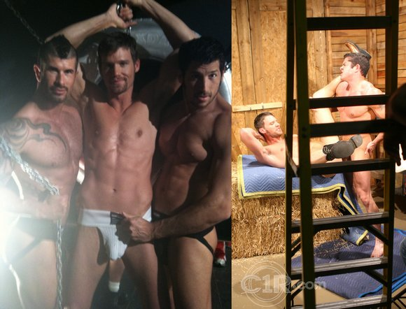 gay porn star Steven Daigle Adam Killian Leo Giamani Josh Griffin