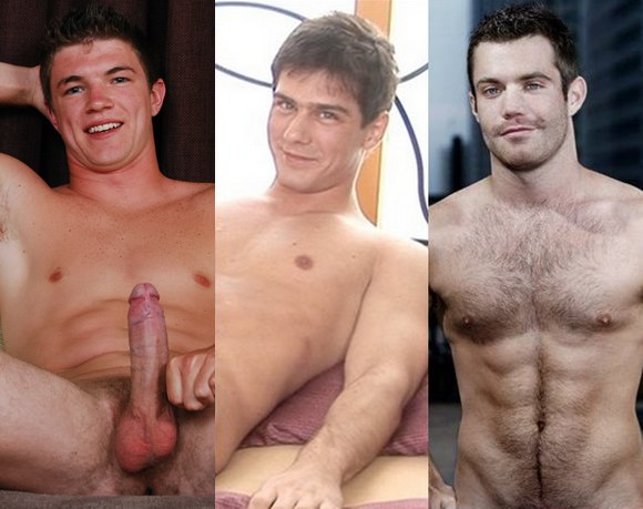Hot Porn Studs: Jerry Ford, Darryl Jacoby & Trent Locke