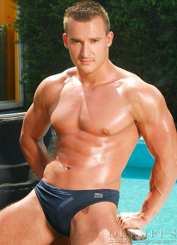 Hungarian porn stud Michael Troy is my porn crush of the week.