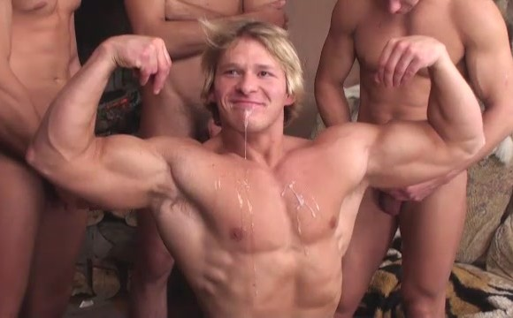 from Zander ass cum gay soaked