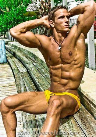 Muscular Fitness Model Jakub
