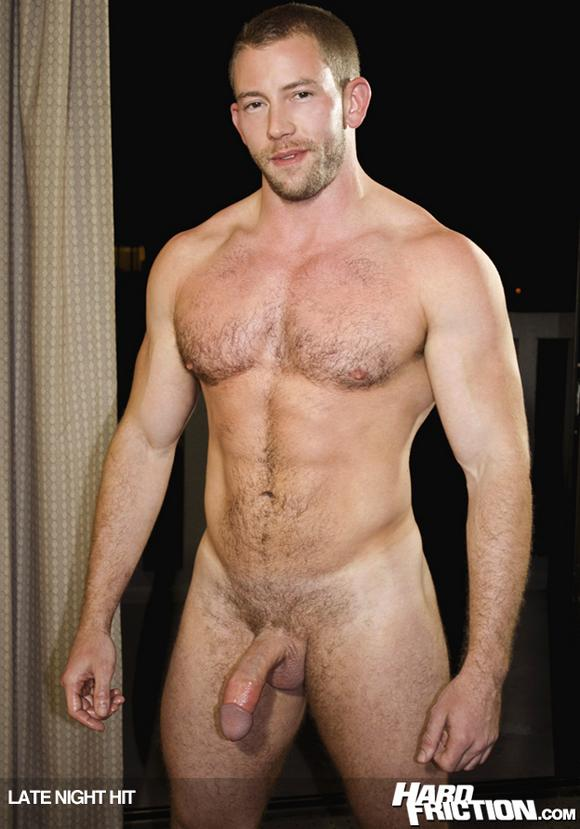 This muscular top fucks hot bottom Logan Scott hard in his porn debut.