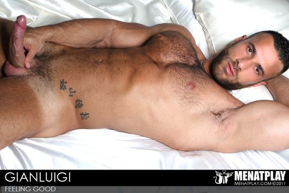 Men At Play Introduces Another Hot Italian Porn Stud GIANLUIGI