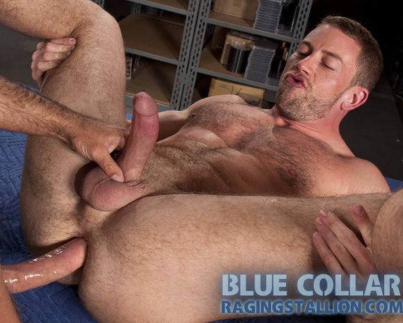 Power-top Shay Michaels gets fucked again in BLUE COLLAR a new movie from ...