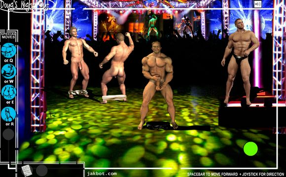 Play DOUG'S NIGHT OUT ? The Harecore Gay Porn Flash Game