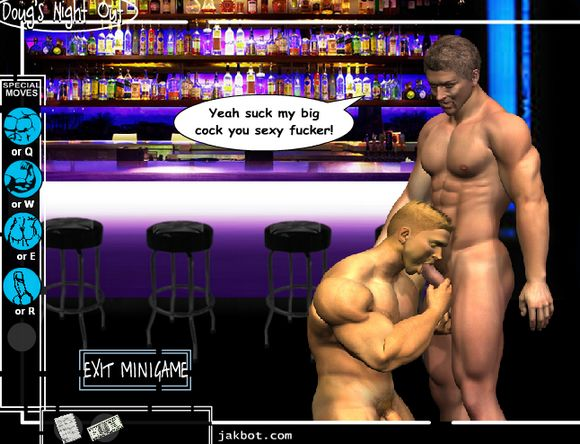 Dougs Night Out Gay Porn Flash Game He's the creator of The Man Whore, a gay porn flash games I blogged about in ...