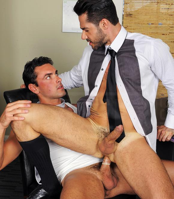 THE GAY OFFICE has been added under the MEN.COM network of sites (DRILL MY ...