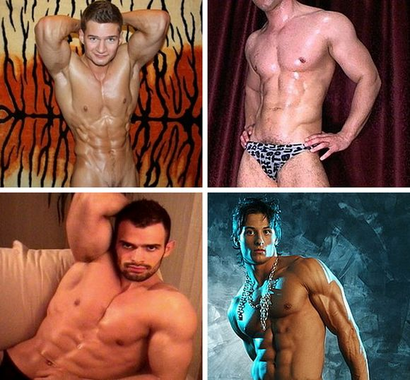 Hot, Muscular Webcam Models (and Hopefully Future Gay Porn Stars) Antonio ...