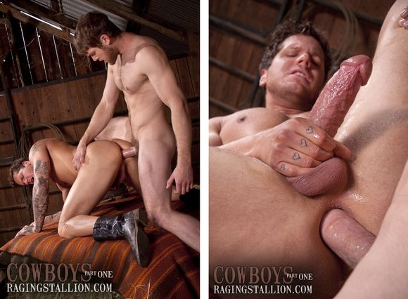 Eager Naked Hot Cowboys