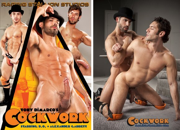 Raging Stallion COCKWORK XXX is Adult Actress' Secret