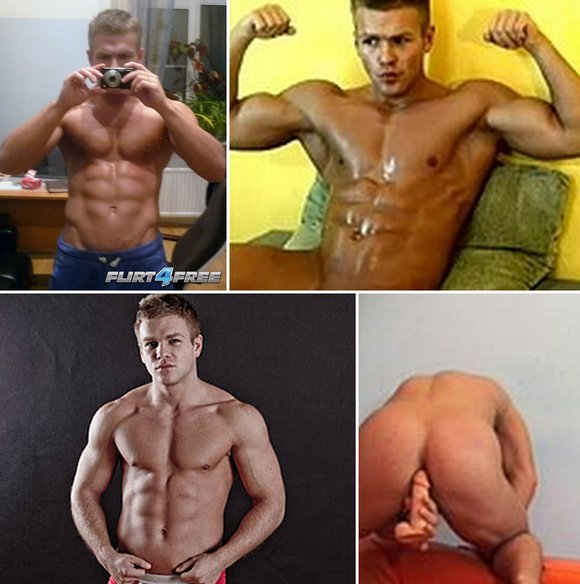 ... model from FLIRT 4 FREE who is definitely should be doing gay porn.
