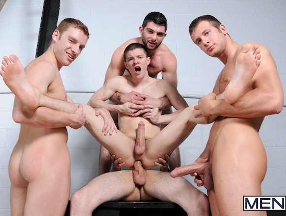 Gangbang men sex gay