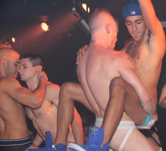 gay muscle cowboys