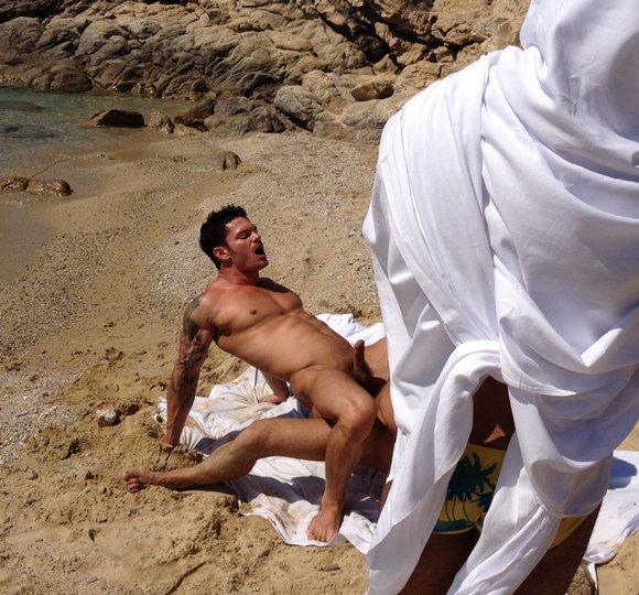 Gay nude beach fucking