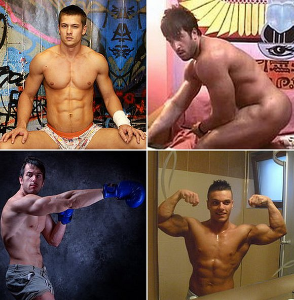 Hot Guys of Flirt 4 Free: Melvinn, Kevin Konrad, David Muscle