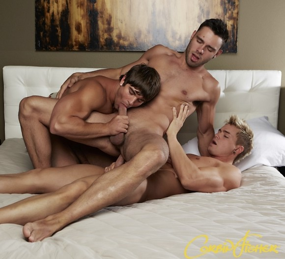 more xxx preview from six shooters connor fucks aiden amp trey
