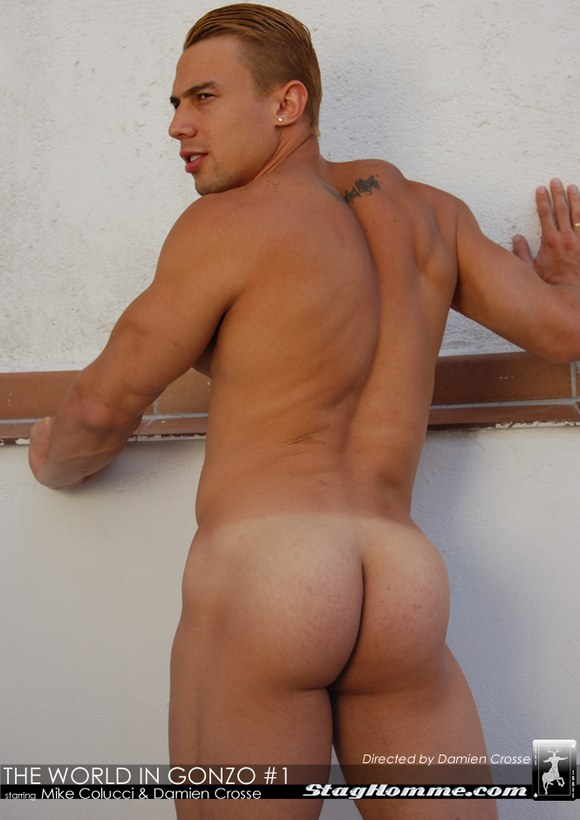 MIKE COLUCCI Bubble Butt Gay Porn Star 1
