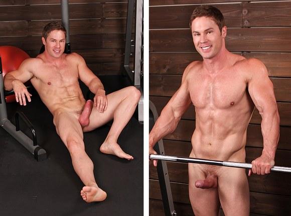 Naked crossfit men