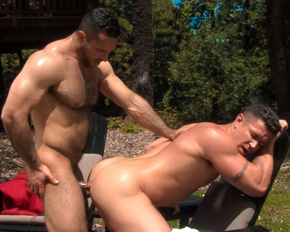 Amazing gay scene jesse backs his arse up 9