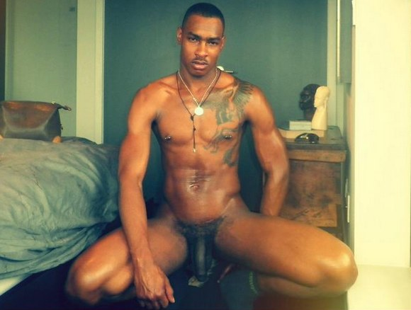 gay ebony stud black Hot