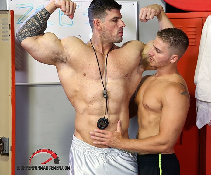 gay muscle free: