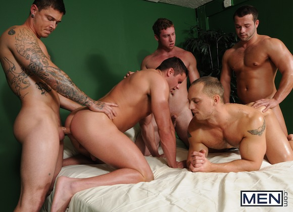 Bubble Butts Orgy Connor Maguire Jake Wilder John Magnum Luke Adams Sebastian Young