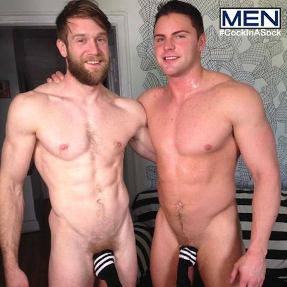 CockInASock Colby Keller Jake Wilder Gay Porn Stars
