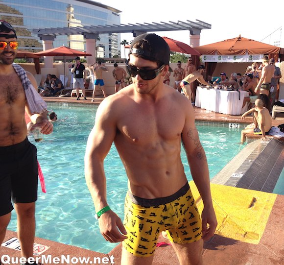 Male Speedo Contest Pool Party Phoenix Forum 2014